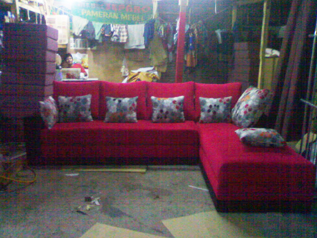 product 135292 4 SOFA BED L SHAPE MR. DONI PROJECT (SBL0001)
