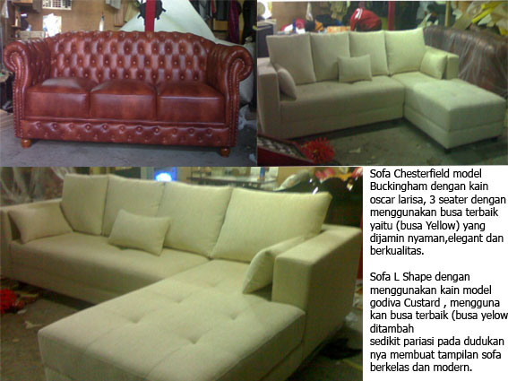 product 1400721 SOFA & FURNITURE OF MR. RISWANDI NS PROJECT (SCRP0001)