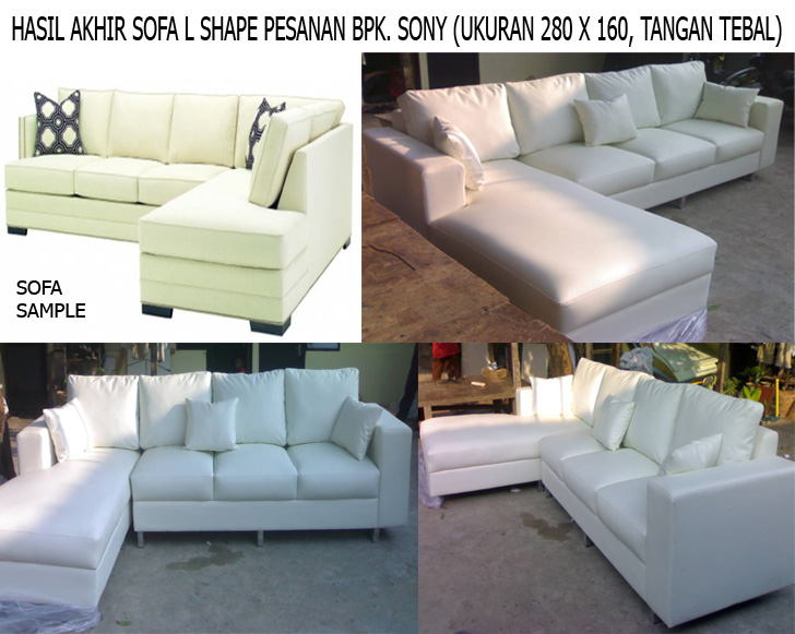 product 1752321 SOFA L SHAPE MR.SONYS PROJECT (SCSP0001)