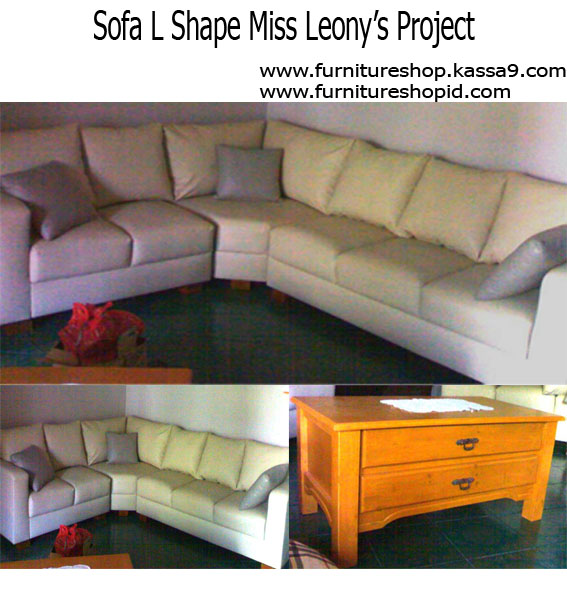 product 1791461 SOFA L SHAPE IVORY TANGO MISS LEONYS PROJECT (SFCUSLEO01)