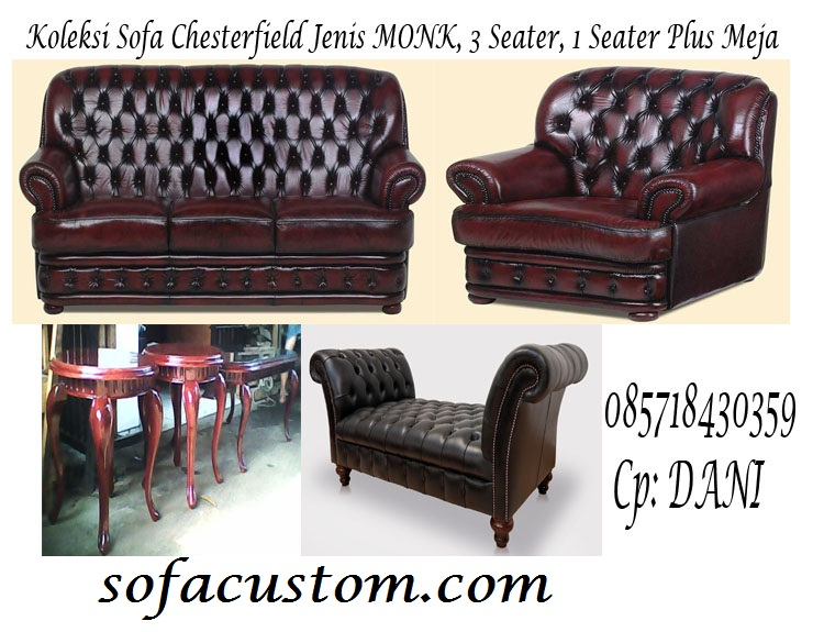 MONKKU SOFA CHESTERFIELD MONKS (SCFMNK)