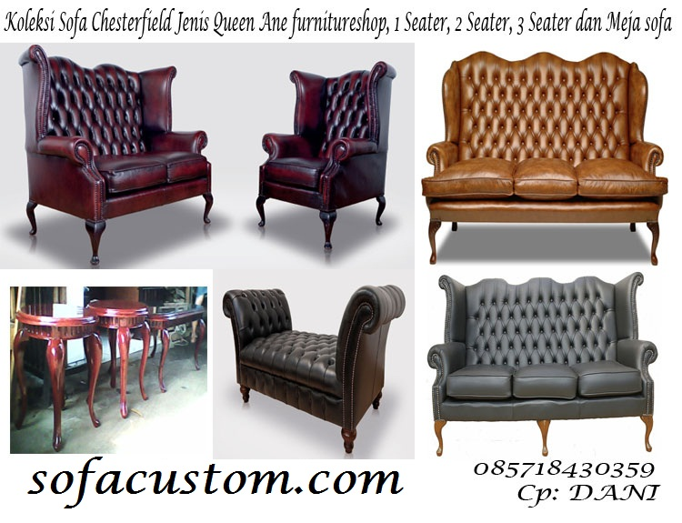 QUEEN ANEKU SOFA CHESTERFIELD QUEEN ANE (SCFQAN)