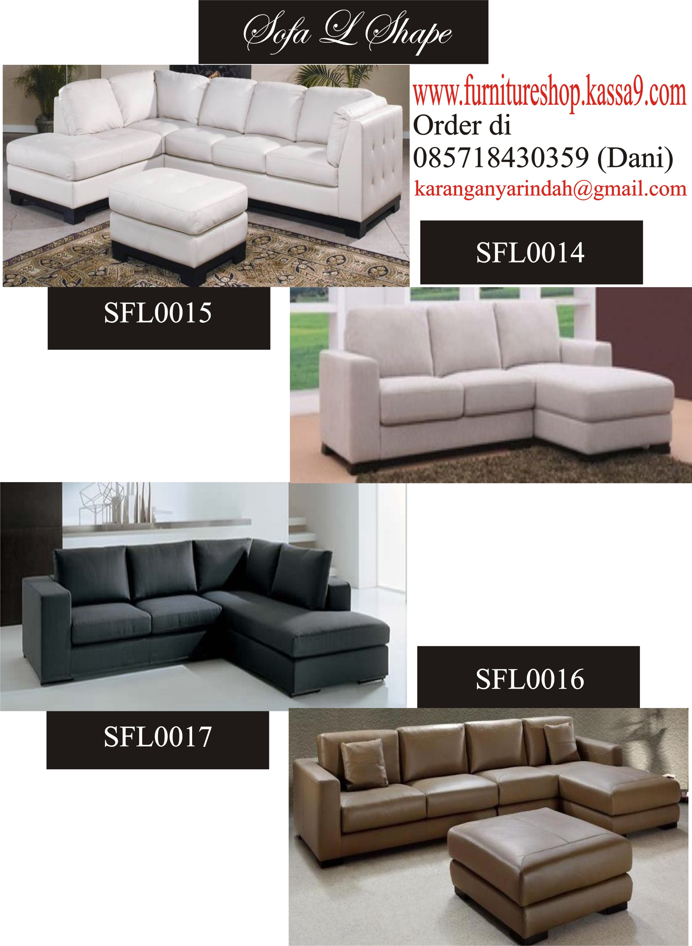 SFL1 SOFA L SHAPE 14 17