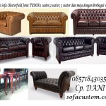 TUDORKU 150x150 SOFA CHESTERFIELD QUEEN ANE (SCFQAN)