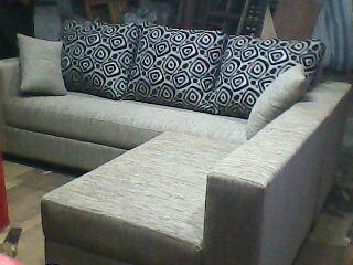 SFL0003 Sofa L Godiva Straw (SFL0003)