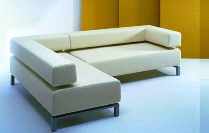 SFL0004 Sofa L Oscar Super White (SFL004)