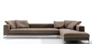 Sofa L Valencia New Brown (SFL0007)