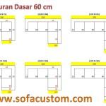 Ukuran 60 L 150x150 Sofa Minimalis dan Kelebihannya