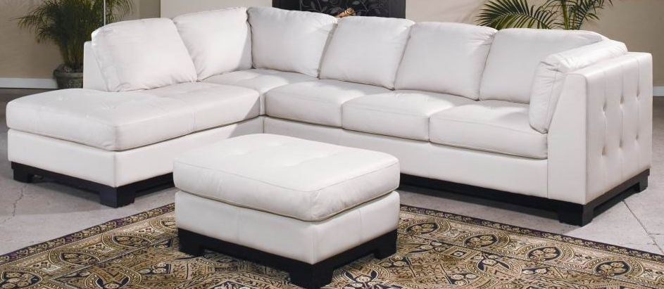 sofa1 Sofa L Oscar Super White (SFL00015)
