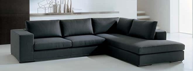 sofa5S Sofa L Oscar Black (SFL00017)