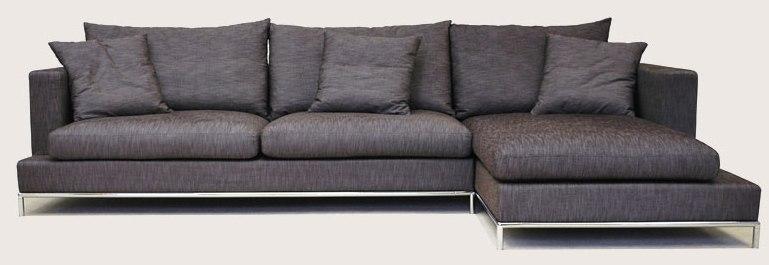 tb 12273 23 Sofa L Suite Dark Grey (SFL00019)