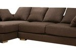 Sofa L Valencia New Brown (SFL0007)