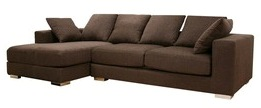 Sofa L Valencia Aztec Brown (SFL00023)