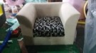 Sofa Custom Mrs Asti Palangkaraya's Project